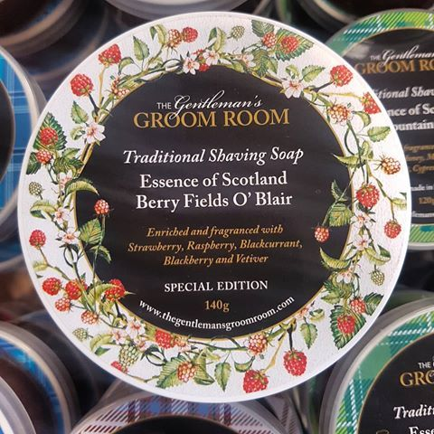Essence of Scotland Berry Fields O' Blair Special Edition Shaving Soap 140g