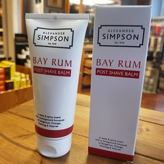 Alexander Simpson Est.1919 Bay Rum Post Shave Balm 100g