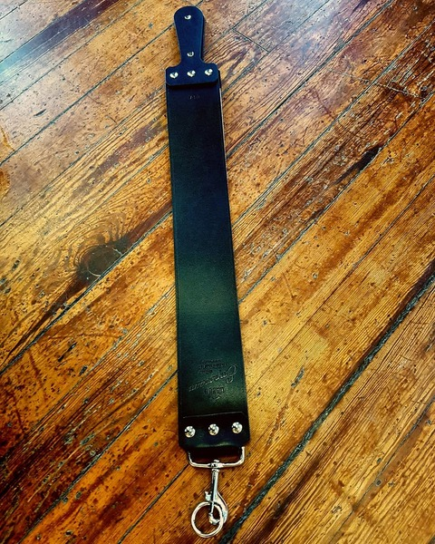 "Razor Emporium 3"" English Bridle Strop (Black)"