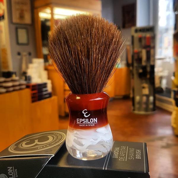 Epsilon Horse Hair Shaving Brush 13061M