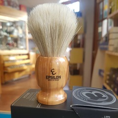 Epsilon White Horse Hair Shaving Brush 13071B