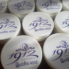 Wickham Soap Co. 1912 Buddha Wood Shaving Soap 140g