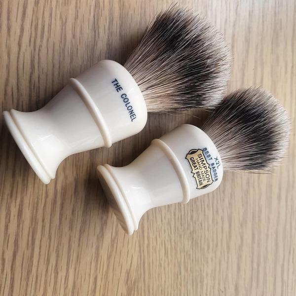 Simpsons The Colonel X2L Best Badger Shaving Brush