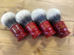 Epsilon Two Band Badger Hair Shaving Brush