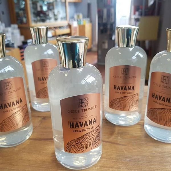 Geo F Trumper Havana Hair And Body Wash 200ml