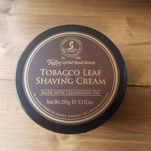 Taylor of Old Bond Street Tobacco Leaf Shaving Cream 150g