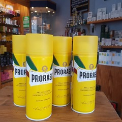 Proraso Cocoa and Shea Butter (yellow) Shaving Foam 400ml Can