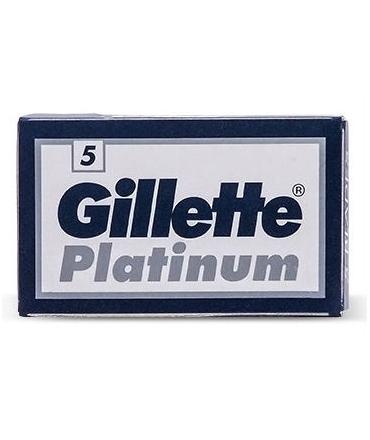Gillette Platinum DE Blades 5's