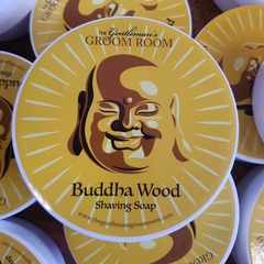 The Gentleman's Groom Room Buddha Wood Shaving Soap 140g