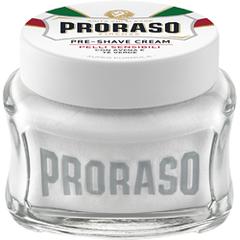 Proraso (White) Sensitive Skin Green Tea Pre And Post Shave Cream 100ml