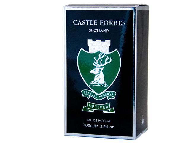Castle Forbes Special Reserve Vetiver Eau De Parfum 100ml