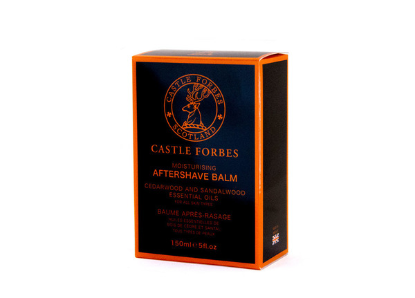Castle Forbes Cedarwood & Sandalwood Aftershave Balm 150ml