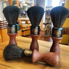 Captain Fawcett Shaving Brush (Black Synthetic)