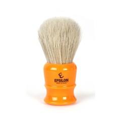 Epsilon White Horse Hair Shaving Brush (Butterscotch)