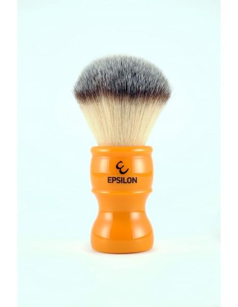 Epsilon Silvertip Fiber Shaving Brush (Butterscotch)