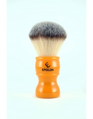 Epsilon Silvertip Fiber Shaving Brush (Butterscotch)