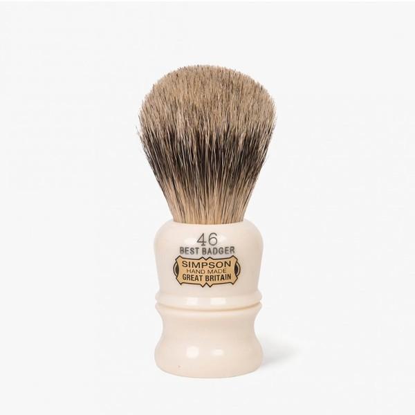 Simpsons Berkeley 46 Best Badger Hair Shaving Brush