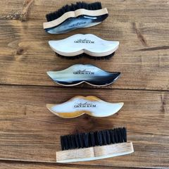 The Gentleman's Groom Room Moustache/Beard Brush