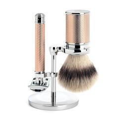 Muhle Traditional Shaving Set (Rosegold)