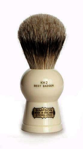 Simpsons Keyhole 2 Best Badger Hair Shaving Brush