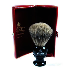GB Kent Pure Badger BLK2 Shaving Brush
