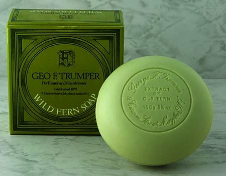 Geo F Trumper Wild Fern Bath Soap Single Tablet 150g