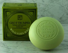 Geo F Trumper Wild Fern Bath Soap Single Tablet 150g