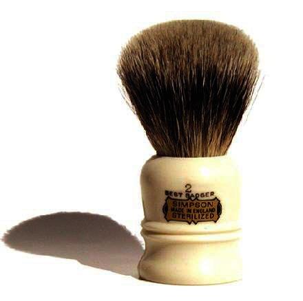 Simpsons The Duke 2 Best Badger Hair  Shaving Brush