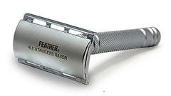 Feather All Stainless Steel Safety Razor AS-D2