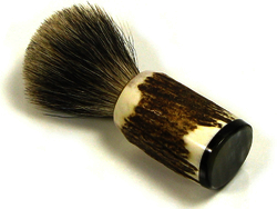The Gentleman's Groom Room 'Monarch Stag' Silvertip Badger Hair Shaving Brush