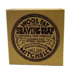Mitchell's Wool Fat Shaving Soap Re-fill 125g