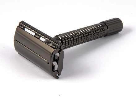 Timor Gunmetal Butterfly Safety Razor