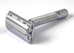 Timor Mirror Chrome Butterfly Safety Razor