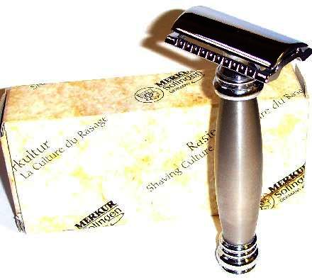 Merkur 43C duo finish Chrome and Stainless Steel HD Safety Razor