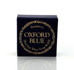 Geo F Trumper Oxford Blue Shaving Soap Refill 56g