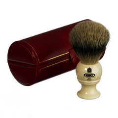 GB Kent Pure Silvertip Badger Hair Shaving Brush