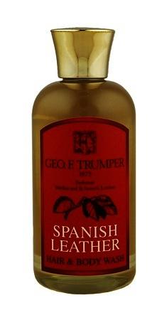 Geo F Trumper Spanish Leather Hair & Body Wash