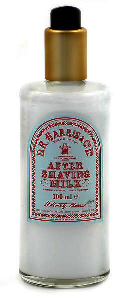 D.R Harris Aftershave Milk 100ml  Dispenser Bottle