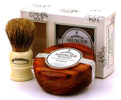D.R Harris Shaving Brush and Shaving Soap Gift Set