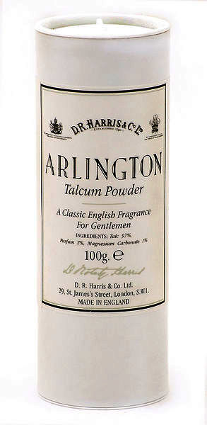 D.R Harris Arlington Talcum Powder 100g