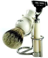 Geo F Trumper Universal Polished Chrome Shaving Stand
