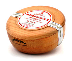 D.R Harris Marlborough Shaving Soap In Beech Wood Shaving Bowl 100g
