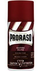 Proraso (Red) Shea Butter & Sandalwood Shaving Foam 300ml Can