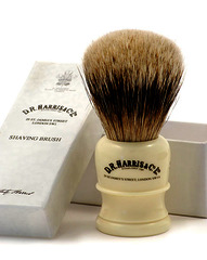 D.R Harris H2 Badger Hair Shaving Brush Imitation Ivory Base