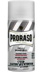 Proraso (White) Sensitive Skin Green Tea Shaving Foam Can 300ml