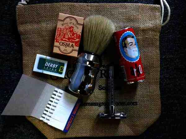 The Gentleman's Groom Room Traditional Shave DE Starter Kit