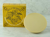 Geo F Trumper Sandalwood Shaving Soap Wooden Bowl Refill