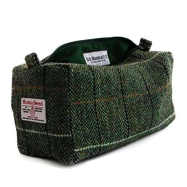 Luxury Harris Tweed Washbag Country Design BNWT.