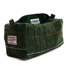 Harris Tweed D.R Harris 'Country' Wash Bag Lg