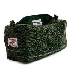 Harris Tweed D.R Harris 'Country' Wash Bag Lg